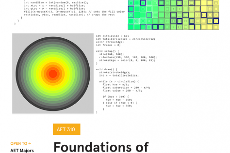 Foundations of Creative Coding Poster