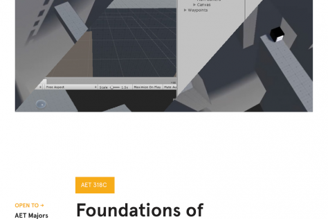 Foundations of Game Development Poster