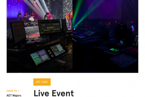 Live Event Engineering Poster