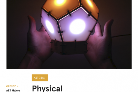 AET 361C Physical Computing Poster