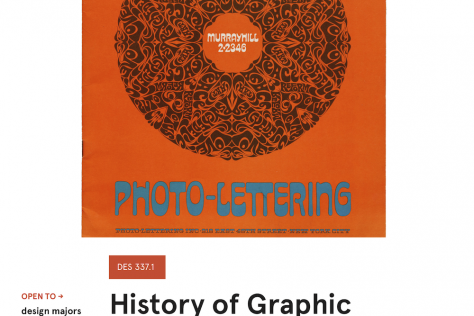 History of Graphic Design Poster