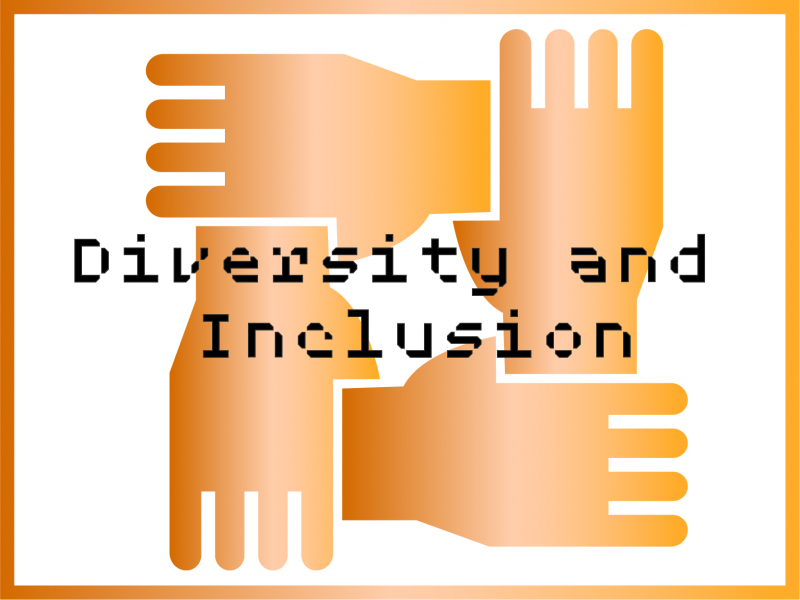Diversity & Inclusion icon with border