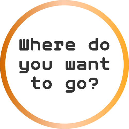 "text reads ""where do you want to go?"""