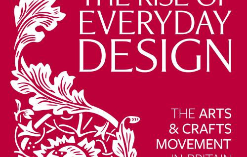 The Rise of Everyday Design red poster