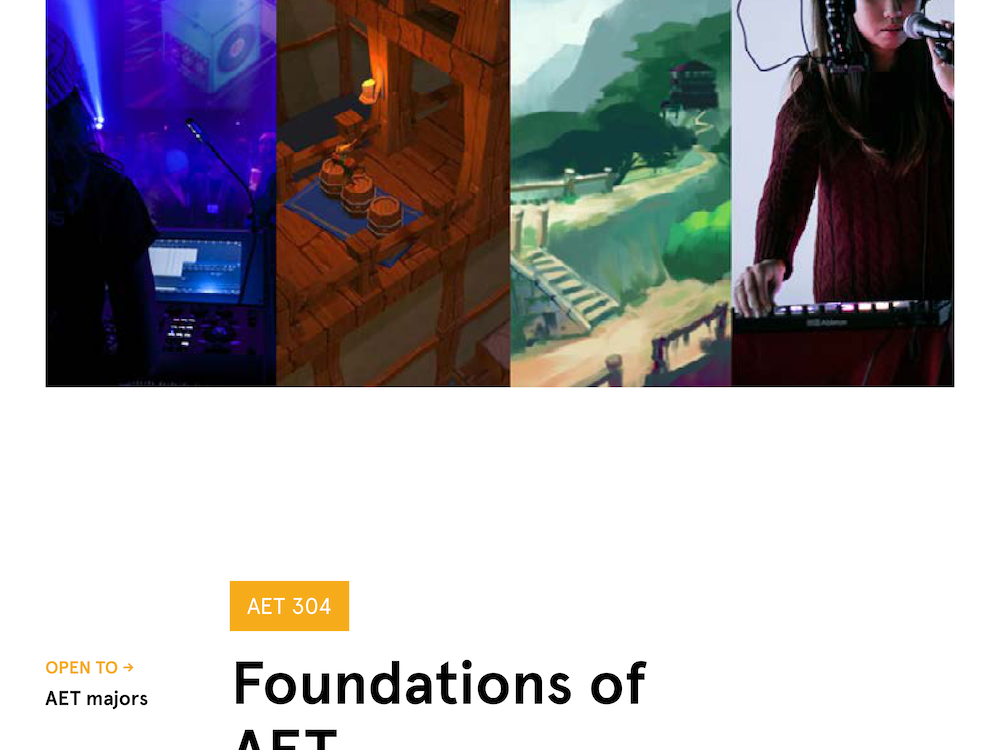 Foundations of AET Poster