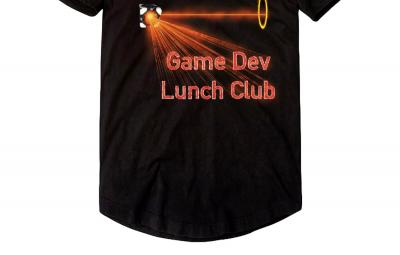 Game Dev Lunch Club Spring 2019 poster