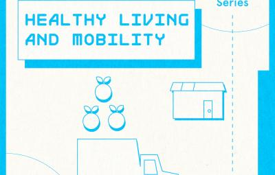 "text reads ""Fall 2020 Lecture Series,"" ""Healthy Living and Mobility,"" ""November 5th at 6pm CST"""