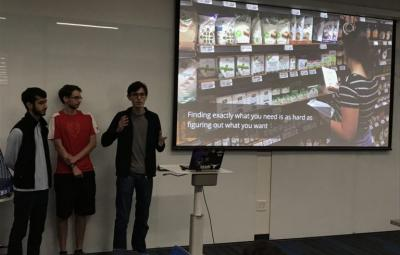 """Students present in Carly Burton's class """"Design and Artificial Intelligence."""""""