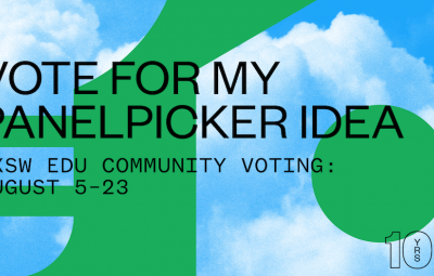Vote for SXSW 2020 panels via PanelPicker