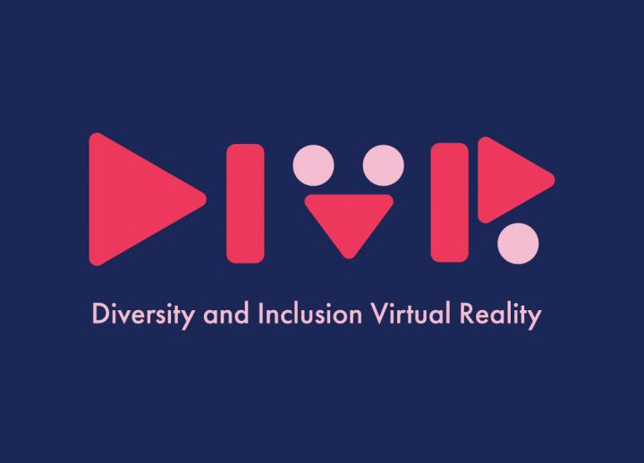 Logo for DIVR (Diversity and Inclusion Virtual Reality)