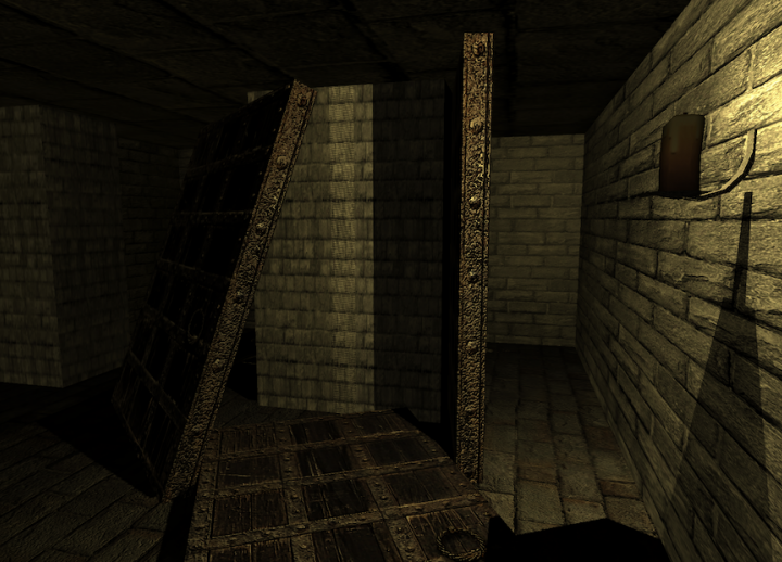 "screenshot of room from original game ""A Series of Rooms"""