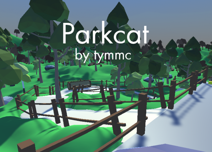 "text reads ""Parkcat by tymmc"""